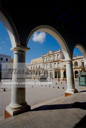 Plaza Vieja, la Havane, Cuba