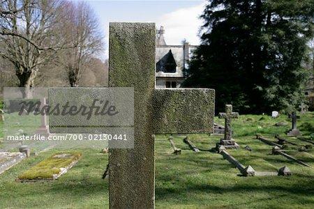 Cross in Cemetery
