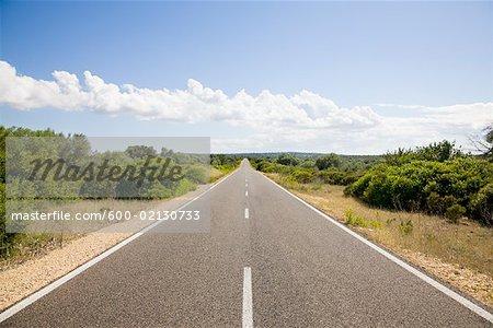 Road, Majorque, Espagne