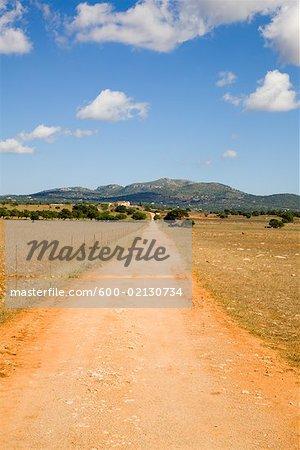 Dirt Road, Majorque, Espagne