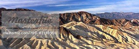 Zabriskie Point, Death Valley, Californie, USA