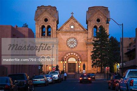 Cathédrale de Saint Francis, Santa Fe, Nouveau-Mexique, États-Unis