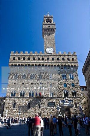 Palazzo Vecchio, Florence, Toscane, Italie