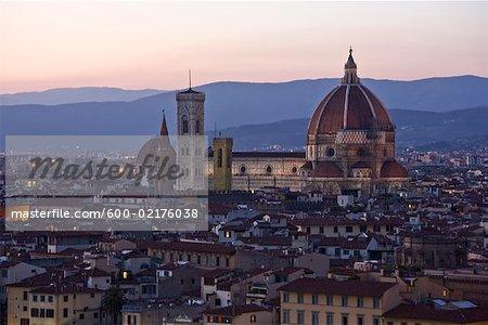 Cathédrale de Florence, Florence, Toscane, Italie