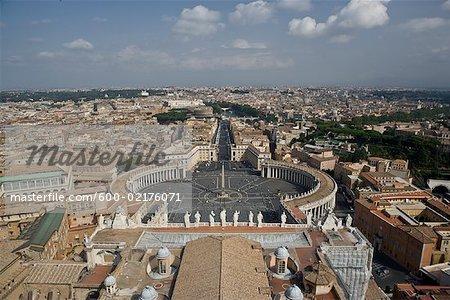 Basilique, cité du Vatican, Rome, Italie St-Pierre