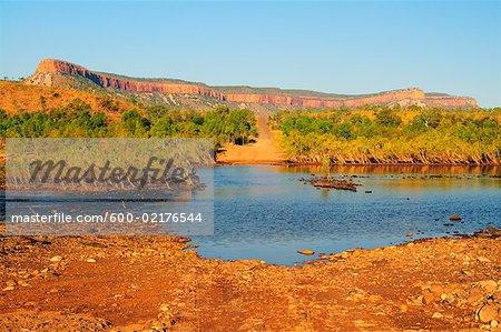 Cockburn et le passage de la rivière Pentecôte varie, Gibb River Road, Kimberley, Australie-occidentale, Australie