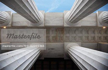 Columns, Lincoln Memorial, Washington, DC, USA