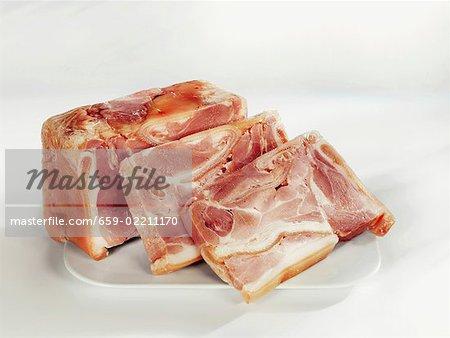 Jambon pressé
