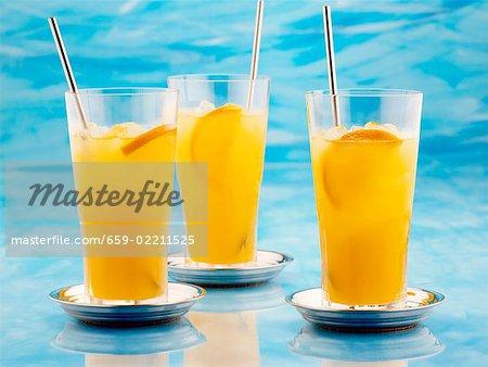 Nuage mandarine (Cognac, liqueur d'orange, jus d'orange