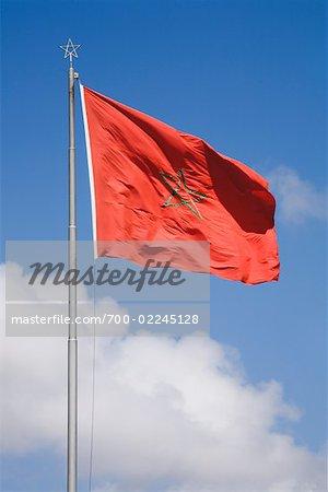 Moroccan Flag, Morocco