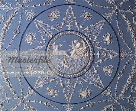 Wedgewood Ceiling, Belvedere House, Dublin, Ireland
