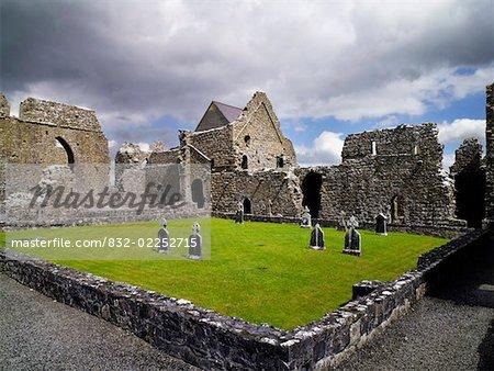 Abbeyknockmoy, abbaye cistercienne de Knockmoy, Co. Galway, Irlande