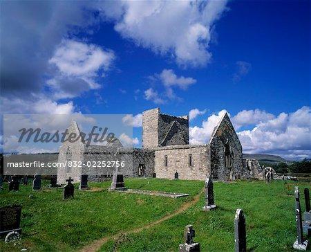 Couvent de la Burrishoole, Co Mayo, Irlande