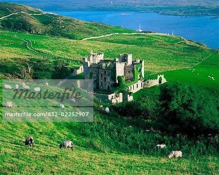 Co Galway, château de Clifden