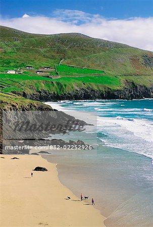 Coomenoole Beach, Dingle Peninsula, Co Kerry, Ireland