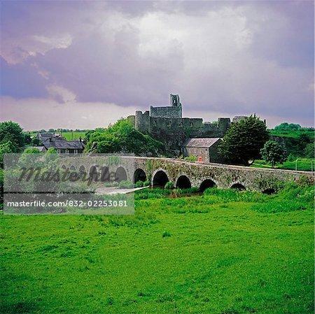 Glanworth Bridge, Funshion River, Co Cork, Ireland