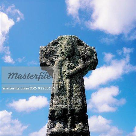 Doorty Cross, Kilfenora, Co Clare Ireland, 12th century High Cross