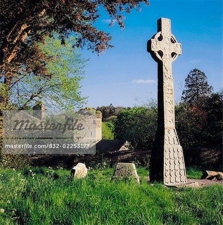 Moone High Cross, Co Kildare, Irlande