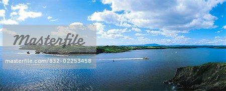 Roaring Water Bay (Roaringwater Bay), Co Cork, Ireland