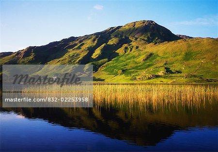 Connemara Co Galway, lac de Kylemore,
