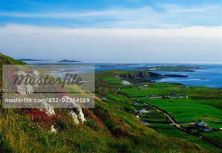 Co Galway, Connemara, Sky Road Voir
