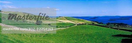 Co Galway, Connemara, Lough Corrib Near Long