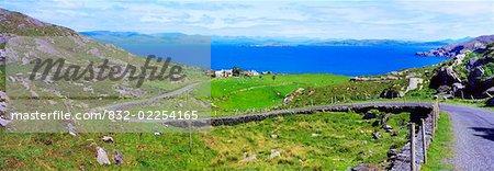 Co Cork, Kenmare Bay From Beara, Peninsula