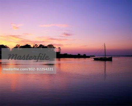 Sunsets, Galway Bay, Near Kinvara Co Galway