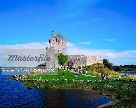 Tourisme, Dunguaire Castle, Co Galway