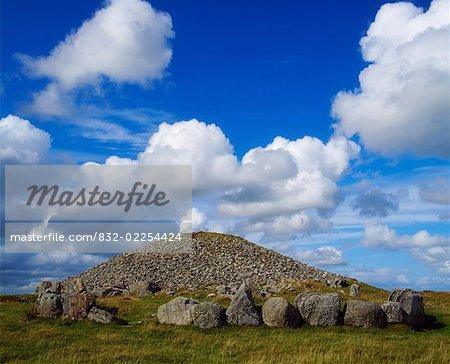5000 Year Old Cairn, on Slieve Na Calliagh, Near Oldcastle Co Meath