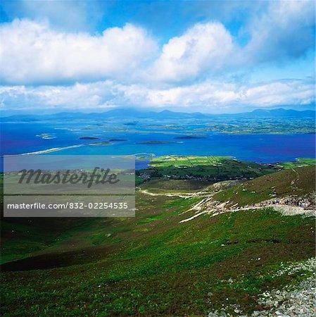 Co Mayo, Croagh Patrick pèlerinages et la baie de Clew