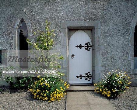 Porte au Musée, Lodge Park, Straffan, Co Kidare, Irlande