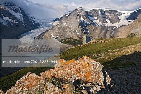 Athabasca Glacier, Columbia Icefield, Jasper National Park, Alberta, Canada