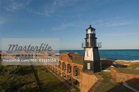 Fort Jefferson, Dry Tortugas National Park, Key West, Florida, USA