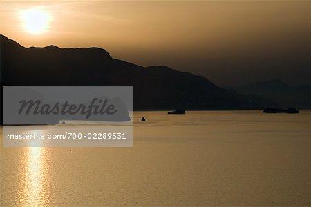 Sunrise Over Golfe de Naples, Capri, Campanie, Italie