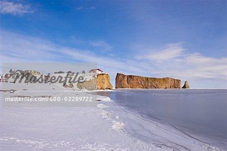 Rocher Percé et la région côtière, Gaspasie, Québec, Canada