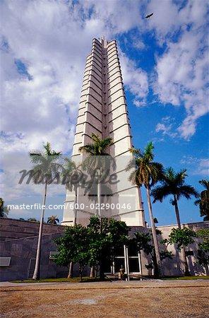 Plaza de la Revolucion Tower Havana, Cuba