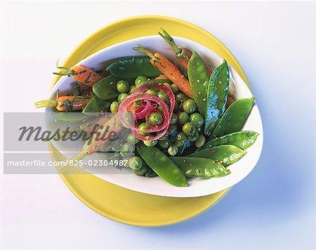 baby vegetable salad