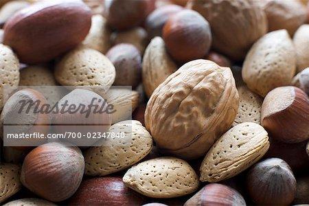 Verschiedene Nüsse
