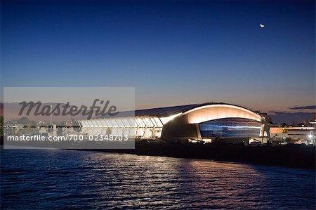Richmond Olympic Oval im Bau, Richmond, British Columbia, Kanada