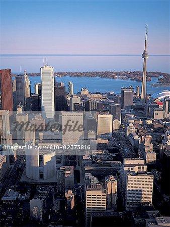 Canada, Ontario, Toronto, vue aérienne