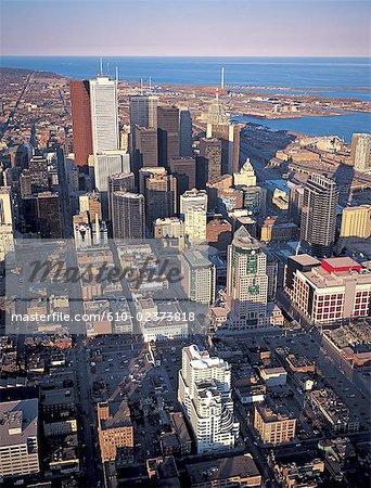 Canada, Ontario, Toronto, aerial view