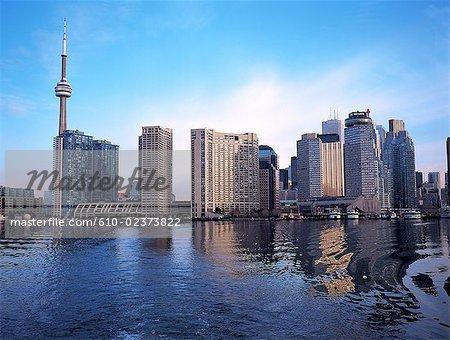 Canada, Ontario, Toronto view from Toronto Islands