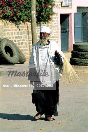Éthiopie, prêtre de région, Mékélé, Tigré