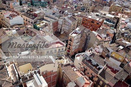 Vue générale d'Espagne, Valence,