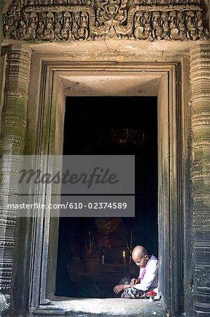 Cambodia, Angkor, Pream Kahn.