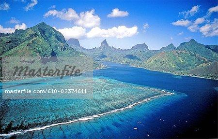 Polynésie française, Moorea island.