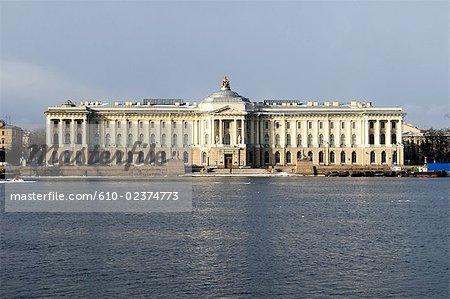 Russia, St Petersburg, Academy of Arts.