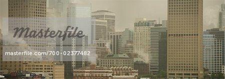 Pollution Over Vancouver, British Columbia, Canada