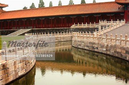 Inner Golden River, cité interdite, Pékin, Chine